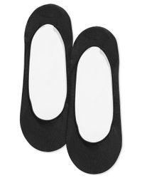 Tommy Hilfiger | Black Ballet Liner Socks 2 Pack | Lyst