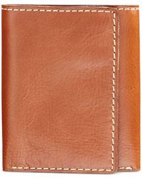 Patricia Nash | Brown Nash Men's Heritage Leather Trifold Wallet | Lyst
