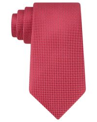 Michael Kors - Red Michael Rene Semi Solid Tie for Men - Lyst