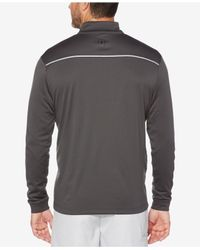 PGA TOUR - Black Men's Quarter-zip Sweater for Men - Lyst