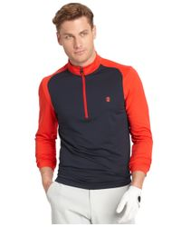 Izod | Textured Half-zip Golf Pullover for Men | Lyst