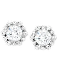 Macy's - Diamond Fashion Stud Earrings (1 Ct. T.w.) In 14k White Gold - Lyst