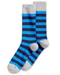 Hot Sox | Blue Holiday Dog Crew Socks for Men | Lyst