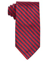 Brooks Brothers | Red Bias Stripe Tie for Men | Lyst