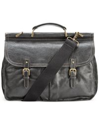 Patricia Nash | Black Men's Leather Dowel Briefcase | Lyst