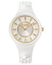 Versus | Women's Fire Island White Silicone Strap Watch 39mm Soq040015 | Lyst