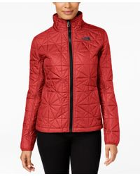 The North Face - Red Tamburello Water-repellent Quilted Jacket, Only At Macy's - Lyst