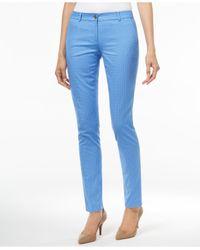 Michael Kors | Blue Michael Miranda Skinny Pants | Lyst