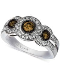 Le Vian | Metallic Chocolatier Diamond Ring (3/4 Ct. T.w.) In 14k White Gold | Lyst
