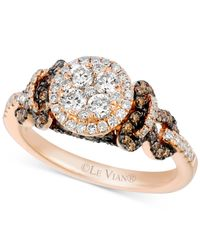 Le Vian | Pink Chocolatier® Diamond Ring (1 Ct. T.w.) In Rose Gold | Lyst