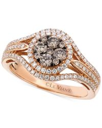 Le Vian | Metallic Chocolatier Diamond Ring (7/8 Ct. T.w.) In 14k Rose Gold | Lyst