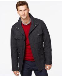 Michael Kors   Gray Michael Big & Tall Wool-blend Field Coat for Men   Lyst