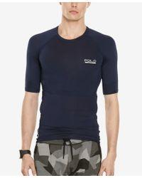 Polo Ralph Lauren - Blue Polo Sport Men's Compression Jersey T-shirt for Men - Lyst