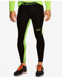 Polo Ralph Lauren - Green Polo Sport Men's Flat-seam Active Pants for Men - Lyst