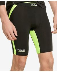 Polo Ralph Lauren - Polo Sport Men's Athletic Black Shorts for Men - Lyst