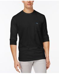 Tommy Bahama | Black Men's Big & Tall Bali Skyline Long-sleeve T-shirt for Men | Lyst