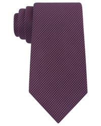 Kenneth Cole Reaction | Purple Men's Waffle-texture Classic Tie for Men | Lyst
