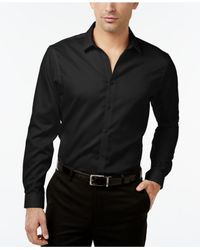 INC International Concepts | Black Men's Jayden Non-iron Shirt, Only At Macy's for Men | Lyst