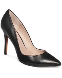 Charles by Charles David | Black Pact Leather Pumps | Lyst