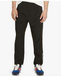 Polo Ralph Lauren | Black Polo Sport Men's Training Pants for Men | Lyst
