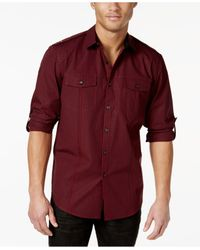 INC International Concepts | Red Men's Updated Shirt, Only At Macy's for Men | Lyst