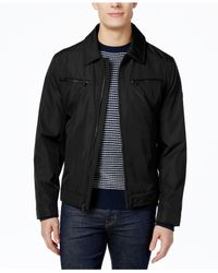 Michael Kors | Black Michael Men's Big & Tall Hipster Jacket for Men | Lyst