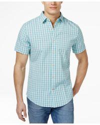 Tommy Hilfiger - Blue Havanna Check Shirt for Men - Lyst