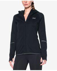 Under Armour | Black Storm Swacket Hooded Zip Jacket | Lyst