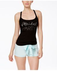 Betsey Johnson | Black Bride And Bridal Party Tank Tops | Lyst