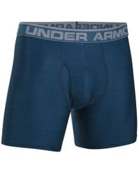 Under Armour | Blue Men's Heatgear® Boxer Briefs for Men | Lyst