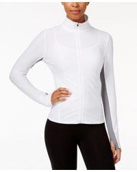 Calvin Klein | White Performance Honeycomb Zip-front Jacket | Lyst