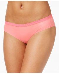 DKNY - Pink Downtown Cotton No Vpl Bikini Dk1027 - Lyst