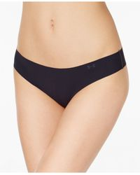 Under Armour | Black Pure Stretch Sheer Thong | Lyst