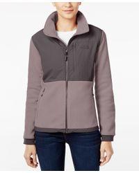 The North Face | Gray Denali Fleece Jacket | Lyst