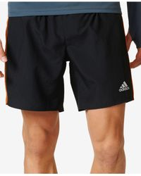 Adidas Originals | Black Men's Response Climalite Running Shorts for Men | Lyst