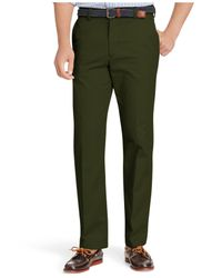 Izod | Green American Straight-fit Flat Front Chino Pants for Men | Lyst