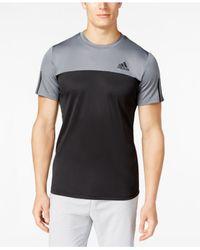Adidas Originals | Black Men's Performance Tech T-shirt for Men | Lyst