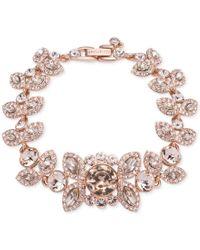 Givenchy   Pink Crystal And Pave Decorative Bracelet   Lyst