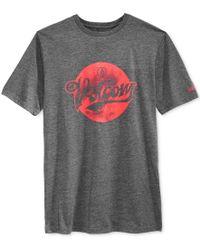 Volcom - Black Men's Script Dot Graphic-print Logo T-shirt for Men - Lyst