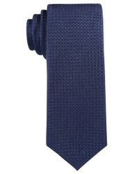 Con.struct - Blue Con.struct Men's Solid Knit Slim Tie for Men - Lyst
