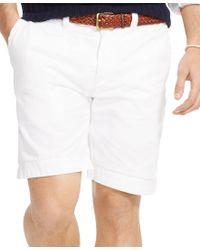 Polo Ralph Lauren | White Men's Relaxed-fit Chino Short for Men | Lyst