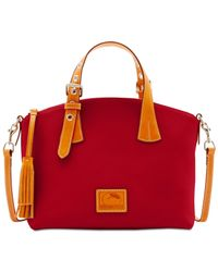 Dooney & Bourke - Red Patterson Trina Small Satchel - Lyst