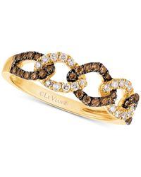 Le Vian - Metallic Diamond Linked Ring (1/3 Ct. T.w.) In 14k Gold - Lyst