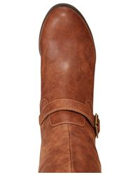 Material Girl - Brown Odiana Over-the-knee Riding Boots - Lyst