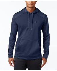 Champion   Blue Men's Tech Fleece Hoodie for Men   Lyst
