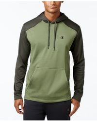 Champion | Green Men's Tech Fleece Hoodie for Men | Lyst