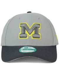 KTZ - Gray Michigan Wolverines The League 9forty Cap for Men - Lyst
