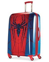 "Samsonite - Red Marvel Spider-man 28"" Hardside Spinner Suitcase By American Tourister - Lyst"