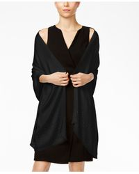 INC International Concepts | Black Gemstone Wrap, Only At Macy's | Lyst
