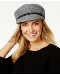 Nine West | Multicolor Felt Newsboy Hat | Lyst